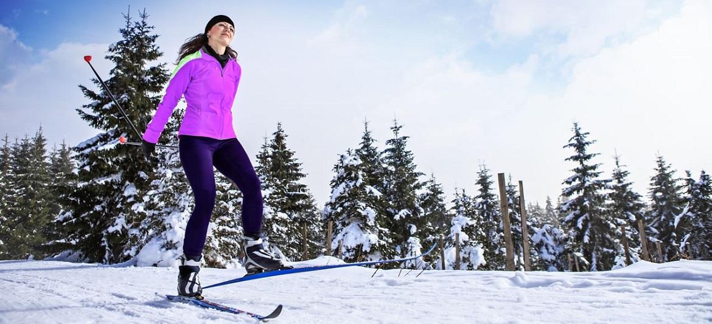 Skiing and ice skating